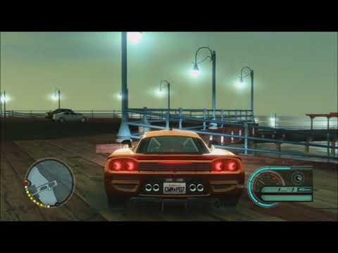 Santa Monica Pier Flip and Police Chase - Midnight Club: Los Angeles