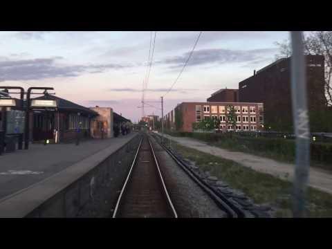 Førerrumstur Holte-Køge (Fuld længde)
