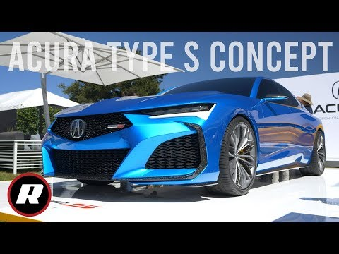 Acura Type S Concept Is A Gorgeous Performance Preview