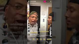 QueenzFlip Records Fight on Instagram Live (Very Funny)