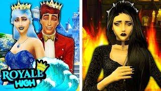 THE MISUNDERSTOOD DARK FAIRY...🔥   Royale High Sims 4   The Sims 4 Royal High School #24! 👑