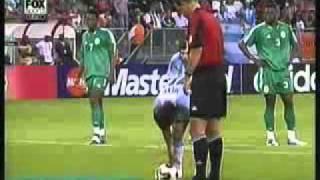 Argentina 2 Nigeria 1 2005