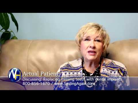 Replace Missing Teeth with Dental Implants with Mountain Home, AR dentist Dr. Derrick Johnson