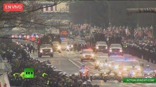 Desfile del día de la investidura de Trump en Washington D.C.
