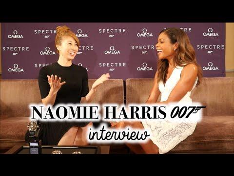 オメガ x 007 ナオミ・ハリスにインタビュー!// Naomie Harris (Miss Moneypenny!) Interview〔#390〕
