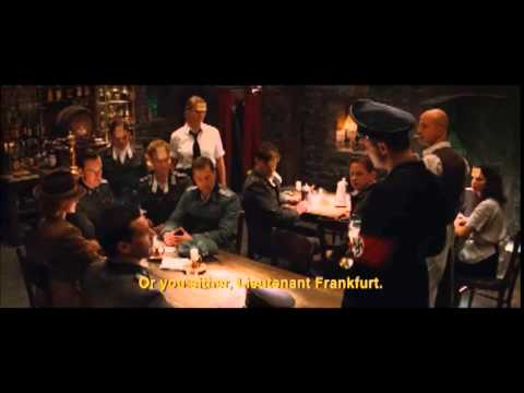 Inglourious Basterds German Accent Scene