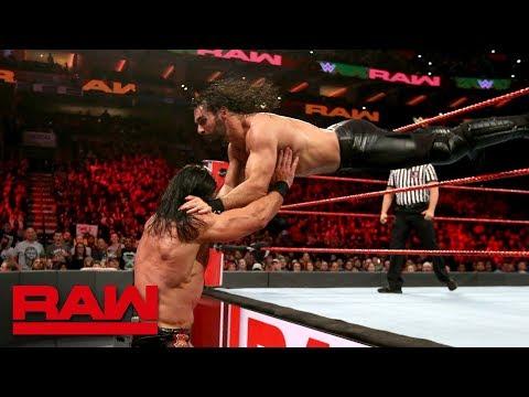 Seth Rollins vs. Drew McIntyre - WWE World Cup Qualifying Match: Raw, Oct. 15, 2018