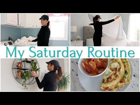 My Saturday Routine | Home Maintenance And Cook With Me