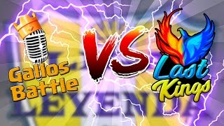 GALLOS BATTLE VS LAST KINGS - Liga Leyenda Jornada 1 | Navalha - Freestyle Royale