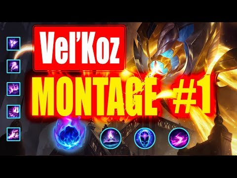 Velkoz Montage #1 | 300 IQ One Shot |  League of Legends