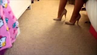 How to Walk in Heels Part 1 (Beginner)