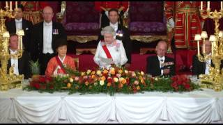 The Queen's speech at the State Banquet for the President of the Republic of Korea
