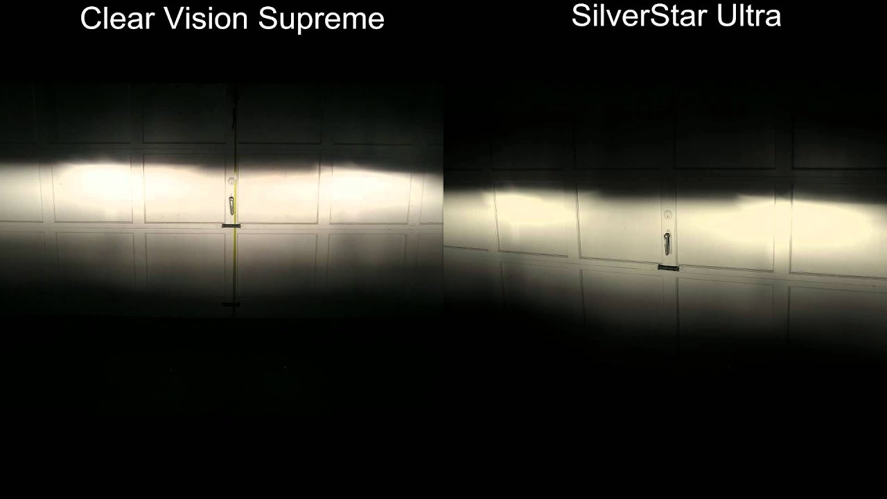 Clear Vision Supreme Vs Silverstar Ultra Youtube