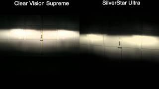 Clear Vision Supreme vs SilverStar Ultra