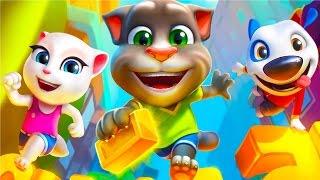 Говорящий Кот Том ЗА ЗОЛОТОМ #28 Мультик игра видео для детей Детский канал Игровой мультфильм
