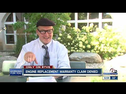 Kia engine replacement warranty claim denied