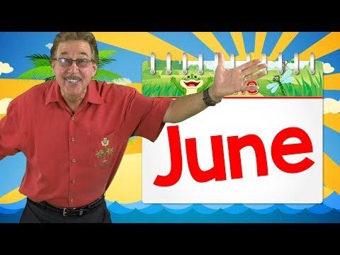 It's the Month of June | Calendar Song for Kids | Jack Hartmann