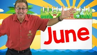 Its the Month of June | Calendar Song for Kids | Jack Hartmann YouTube Videos