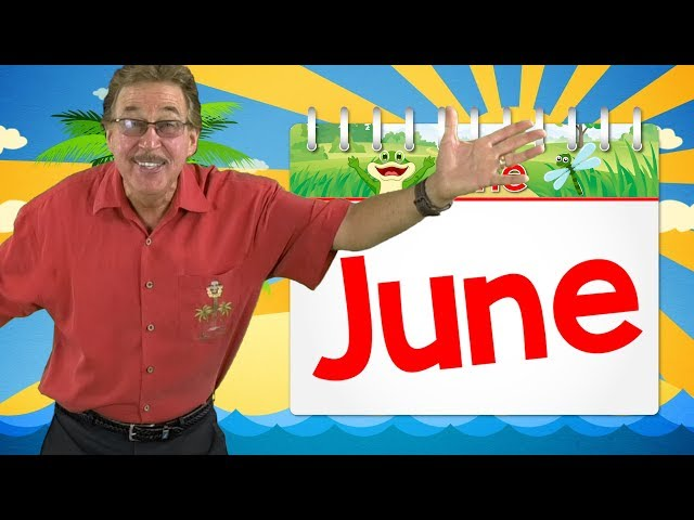 Its the Month of June | Calendar Song for Kids | Jack Hartmann
