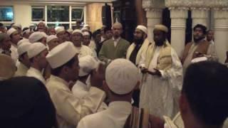 Sending blessings (salawat) on the Prophet Muhammad - End of Majlis (Jakarta, Indonesia, Jan 2010)