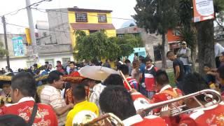 banda la reyna de huajuapan popurri de mambos en santa maria aztahuacan 2014