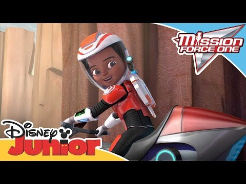 Mission Force One | Connect and Protect: Hoverbiking | Official Disney Channel Africa