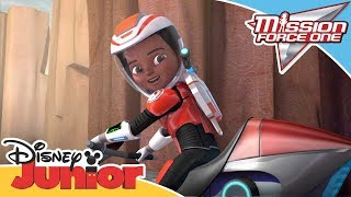Mission Force One Connect and Protect Hoverbiking Official Disney Channel Africa
