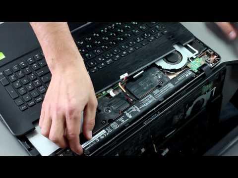 Как поменять батарею в ноутбуке