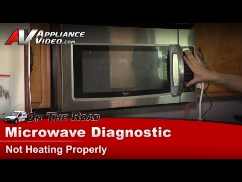 Microwave Diagnostic & Repair-Not Heating,Whirlpool,Maytag,Kenmore,KitchenAid,Roper- WMH1162XVS 2