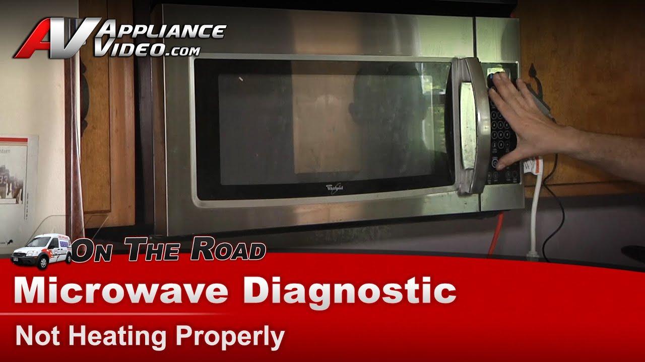 microwave diagnostic repair not heating whirlpool maytag kenmore kitchenaid roper wmh1162xvs 2