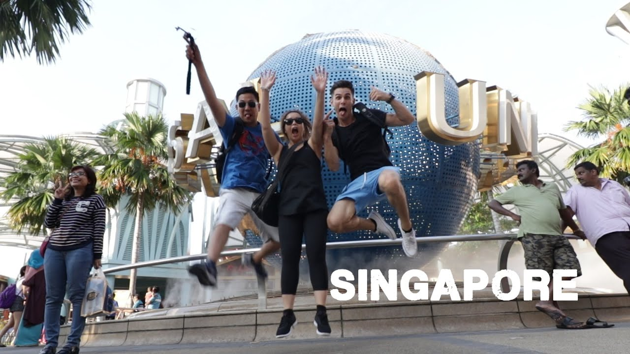 The best theme park in Asia (universal studios singapore)