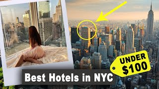 Best Hotels in NYC center Under $100 (with guest testimonials 2021)