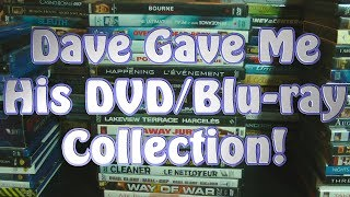 Dave Gave Me His DVD/Blu-ray Collection!