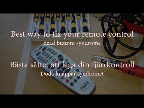 Repair your remote Laga din fjärrkontroll