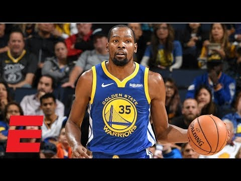 Kevin Durant, Quinn Cook step up without Steph Curry, Warriors win vs. Nets | NBA Highlights