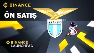 Binance Launchpad Lazio Fan Token - Binance Ön Satış Nasıl Yapılır?
