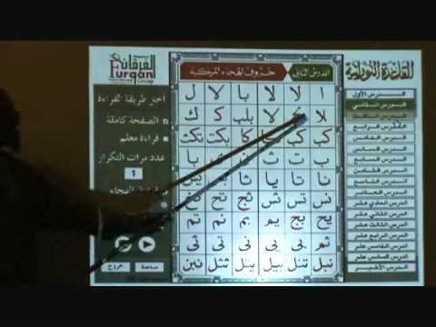 Reading Arabic and Quran script: Lesson 1