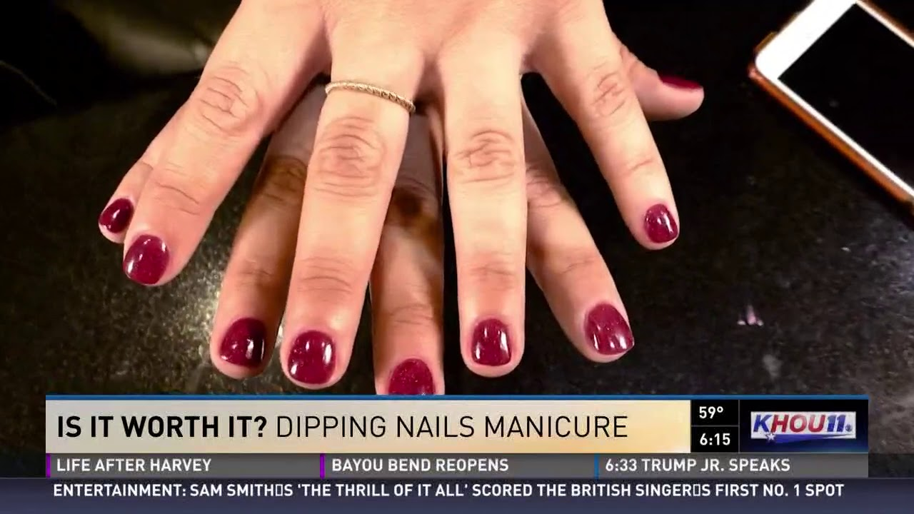 Is it worth it? Dipping nails manicure - YouTube
