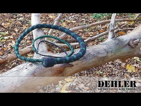 Dehler`s Bavarian Bullwhips - Bullenpeitschen aus Fallschirmleine (Trailer)