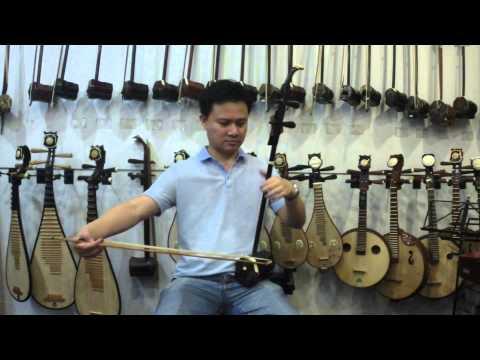Demo of Shanghai Dunhuang Premium Rosewood Erhu