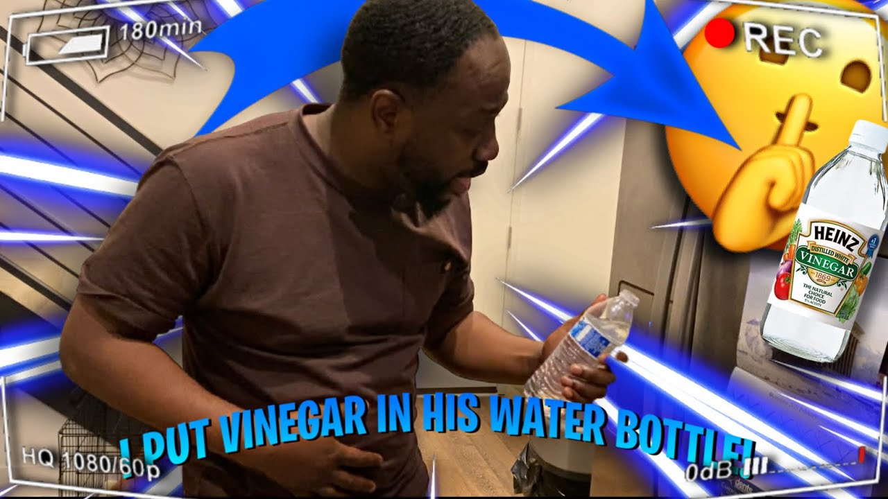 Replacing George Water With Vinegar   Funny Reactions