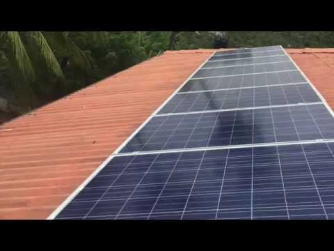 2kW Solar Power System Installation in Jaffna