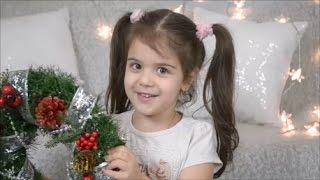 София делает РОЖДЕСТВЕНСКИЙ ВЕНОК♥DIY♥SOFIA BEAUTY KIDS