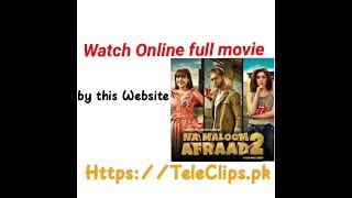 Na Maloom Afraad 2 watch online full movie by website TeleCips