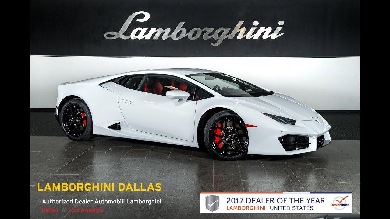2018 Lamborghini Huracan LP 580-2 Bianco Icarus 18L0063