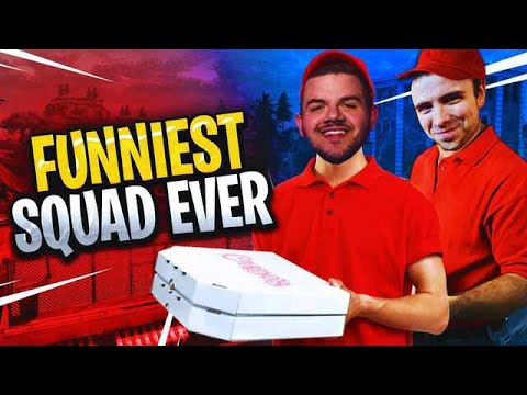 FUNNIEST SQUAD EVER! With TimTheTatMan, Dr. Lupo, and Marcel! (Fortnite: Battle Royale)