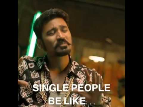 Maari single dialogue