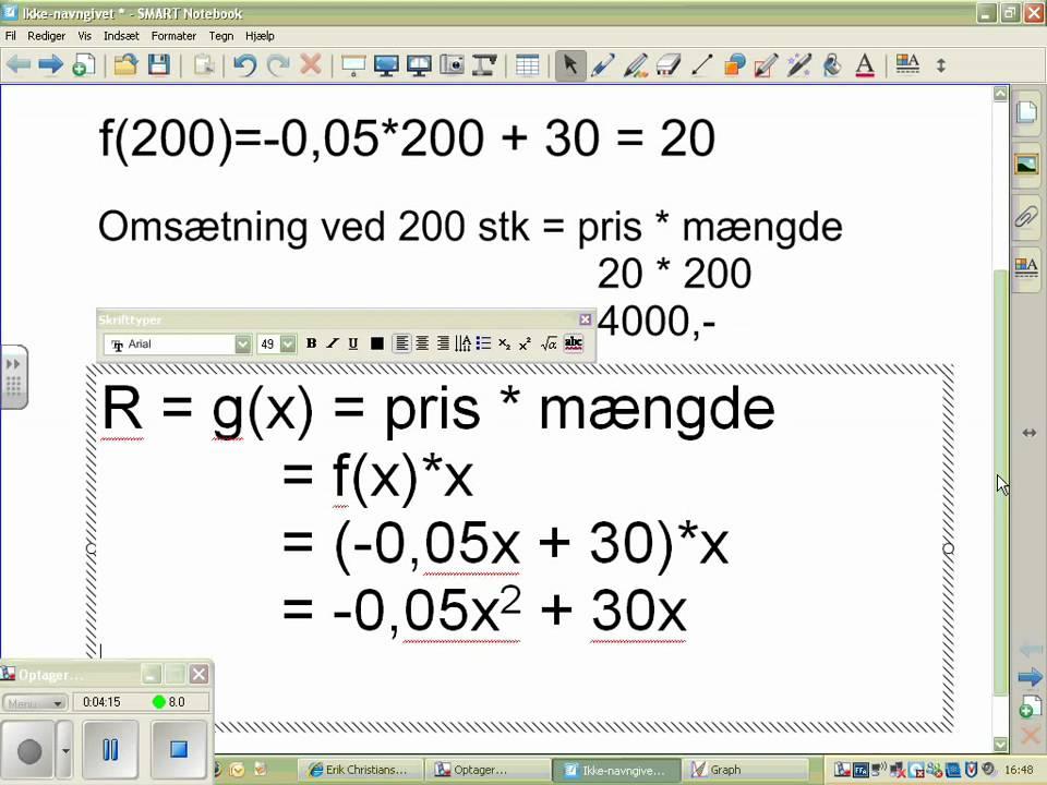 anvendelse af 2 gradsfunktion til profitmaksimering_1.avi