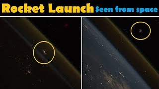 EPIC Space Rocket Launch seen from Space   Progress MS-10 Time-Lapse