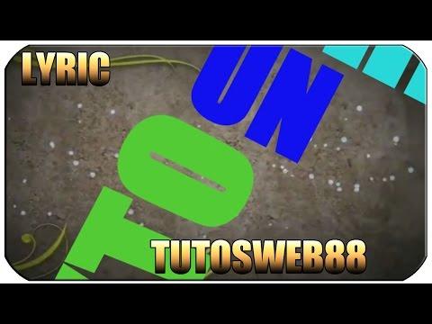 Efecto Texto Video Lyric Tutorial / After rápido y facil